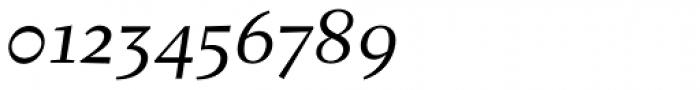 Fazeta Text Italic Font OTHER CHARS