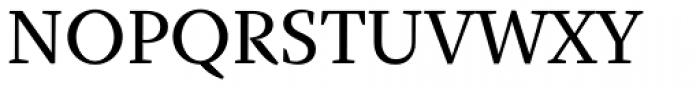 Fazeta Text Medium Font UPPERCASE