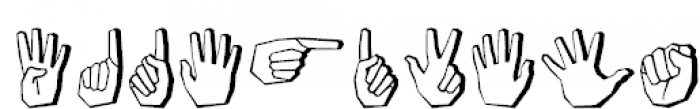 FastFingers Regular Font OTHER CHARS