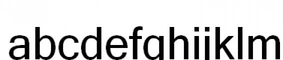 FastFingers Regular Font LOWERCASE