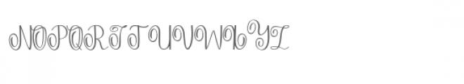 Falisha 05 Font UPPERCASE