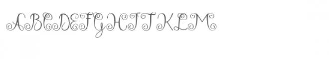 Falisha 06 Font UPPERCASE