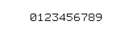 Facsimile (plain) Font OTHER CHARS