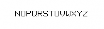 Facsimile (plain) Font UPPERCASE