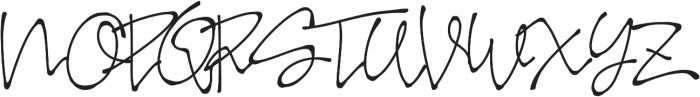 FB Sepatu ttf (400) Font UPPERCASE