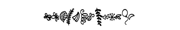 FB-Doodled Font UPPERCASE