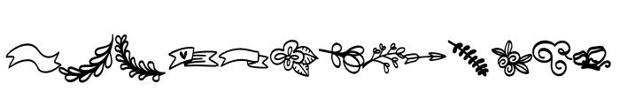 FB-Doodled Font LOWERCASE