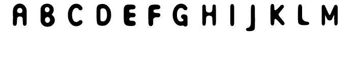 FB Ivory C Font UPPERCASE
