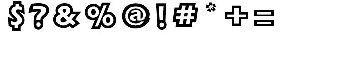 FB Magic POP L Font OTHER CHARS