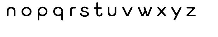 FB New Round Gothic Medium Font LOWERCASE