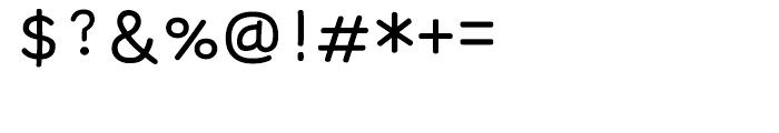 FB Plum Regular Font OTHER CHARS