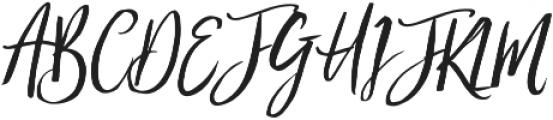 FC_Blushing Bride otf (400) Font UPPERCASE