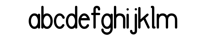 FC Basic Font Font LOWERCASE