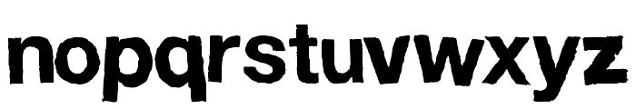 FD Helwoodica Font LOWERCASE