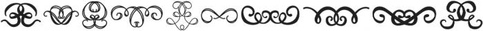 FE Decor Swash ttf (400) Font OTHER CHARS