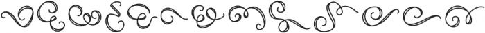 FE Decor Swash ttf (400) Font UPPERCASE