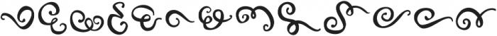 FE Decor Swash ttf (400) Font LOWERCASE