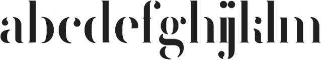 FEMORALIS ttf (400) Font LOWERCASE