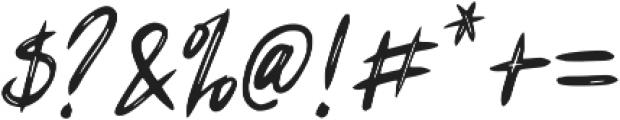 Fearless Art ttf (400) Font OTHER CHARS