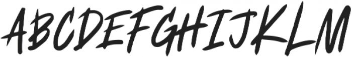 Fearless ttf (400) Font UPPERCASE