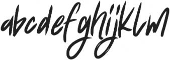 Fearless ttf (400) Font LOWERCASE