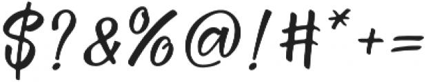 Febiolla Regular otf (400) Font OTHER CHARS