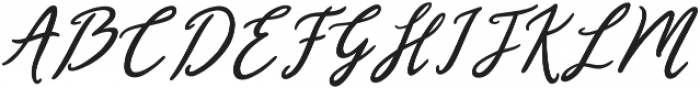 February Love otf (400) Font UPPERCASE