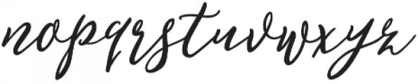 February Love otf (400) Font LOWERCASE