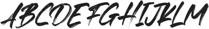Fedattona Italic otf (400) Font UPPERCASE