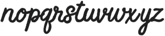 Feel Real ttf (400) Font LOWERCASE
