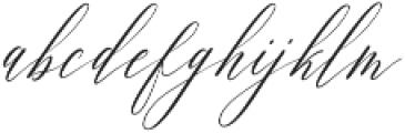 Feelsmooth  otf (400) Font LOWERCASE