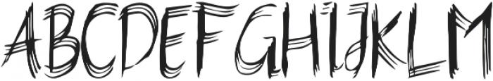 Feelter Typeface Regular otf (400) Font UPPERCASE