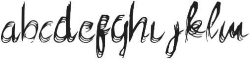 Feelter Typeface Regular otf (400) Font LOWERCASE