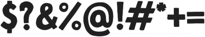 Fela Bold otf (700) Font OTHER CHARS