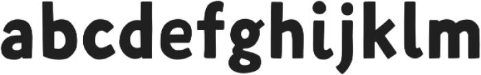 Fela Bold otf (700) Font LOWERCASE