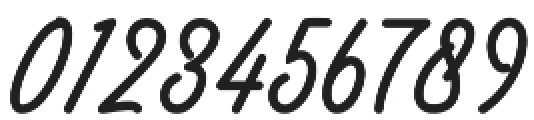 Felicia otf (400) Font OTHER CHARS