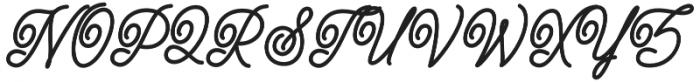 Felicia otf (400) Font UPPERCASE