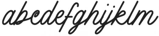 Felicia otf (400) Font LOWERCASE