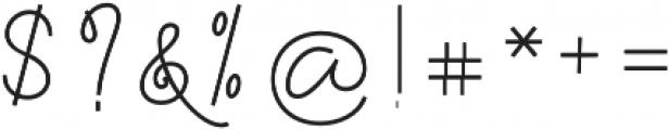 Felicity Script Bold Regular otf (700) Font OTHER CHARS