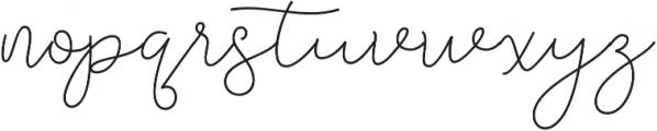 Felicity Script Bold Regular otf (700) Font LOWERCASE