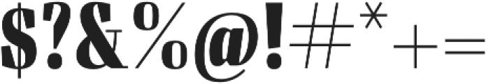 Felis Bold Condensed otf (700) Font OTHER CHARS