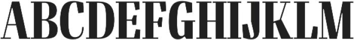 Felis Bold Condensed otf (700) Font UPPERCASE