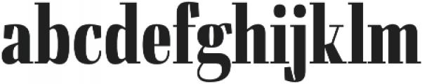 Felis Bold Condensed otf (700) Font LOWERCASE