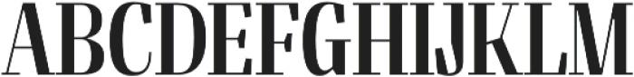 Felis Condensed otf (400) Font UPPERCASE