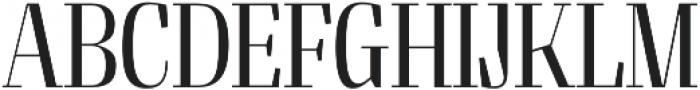 Felis Light Condensed otf (300) Font UPPERCASE