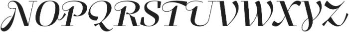 Felis Script otf (400) Font UPPERCASE