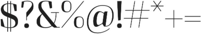 Felis otf (300) Font OTHER CHARS