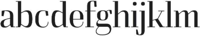 Felis otf (300) Font LOWERCASE