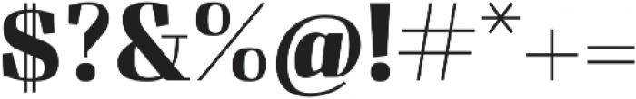 Felis otf (700) Font OTHER CHARS