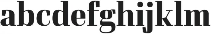 Felis otf (700) Font LOWERCASE